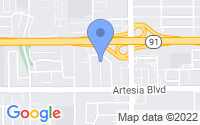 Map of Artesia CA