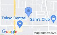 Map of Gardena CA