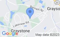 Map of Grayson GA