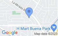 Map of La Mirada CA