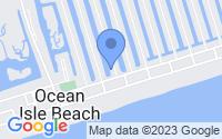 Map of Ocean Isle Beach NC