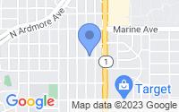 Map of Manhattan Beach CA