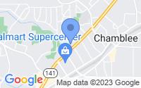 Map of Chamblee GA