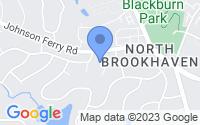 Map of Brookhaven GA
