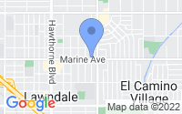Map of Lawndale CA