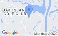 Map of Oak Island NC