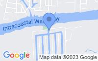 Map of Holden Beach NC
