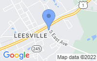 Map of Batesburg-Leesville SC