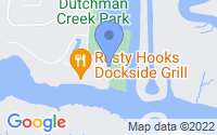 Map of Southport NC