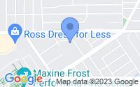 Map of Riverside CA