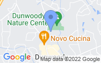 Map of Dunwoody GA