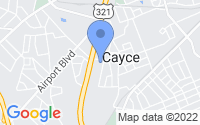 Map of Cayce SC