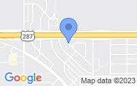 Map of Iowa Park TX