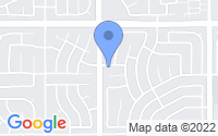 Map of Corona CA