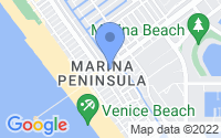 Map of Marina del Rey CA
