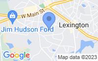 Map of Lexington SC