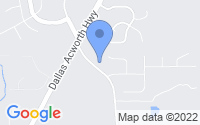 Map of Dallas GA