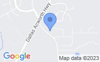 Map of Dallas GA