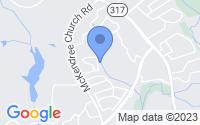 Map of Lawrenceville GA