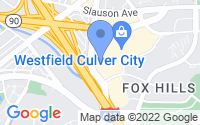 Map of Culver City CA