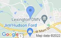 Map of Lexington SC