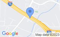 Map of Marietta GA