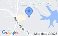 Map of Kennesaw GA