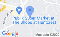 Map of Lawrenceville GA