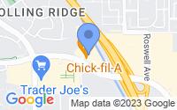 Map of Chino Hills CA