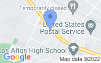 Map of Hacienda Heights CA