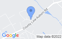 Map of Auburn GA