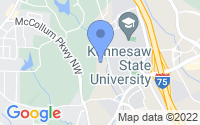 Map of Kennesaw GA