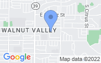 Map of West Covina CA