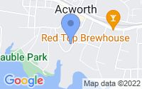 Map of Acworth GA
