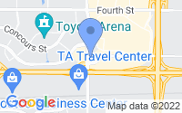 Map of Ontario CA