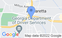 Map of Alpharetta GA