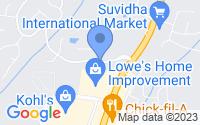 Map of Suwanee GA