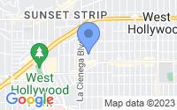 Map of Los Angeles CA