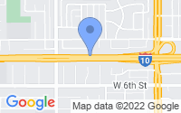 Map of Upland CA