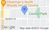 Map of Covina CA