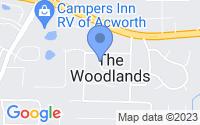 Map of Acworth GA
