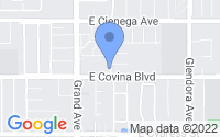 Map of Covina CA