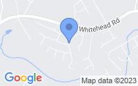 Map of Sugar Hill GA