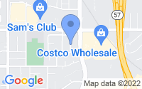 Map of San Dimas CA