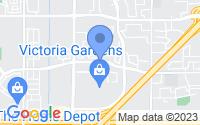 Map of Rancho Cucamonga CA