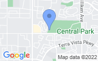 Map of Rancho Cucamonga CA