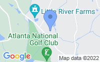 Map of Milton GA