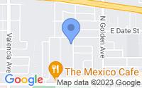 Map of San Bernardino CA