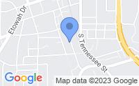 Map of Cartersville GA