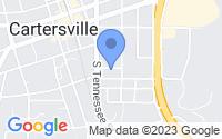 Map of Emerson GA